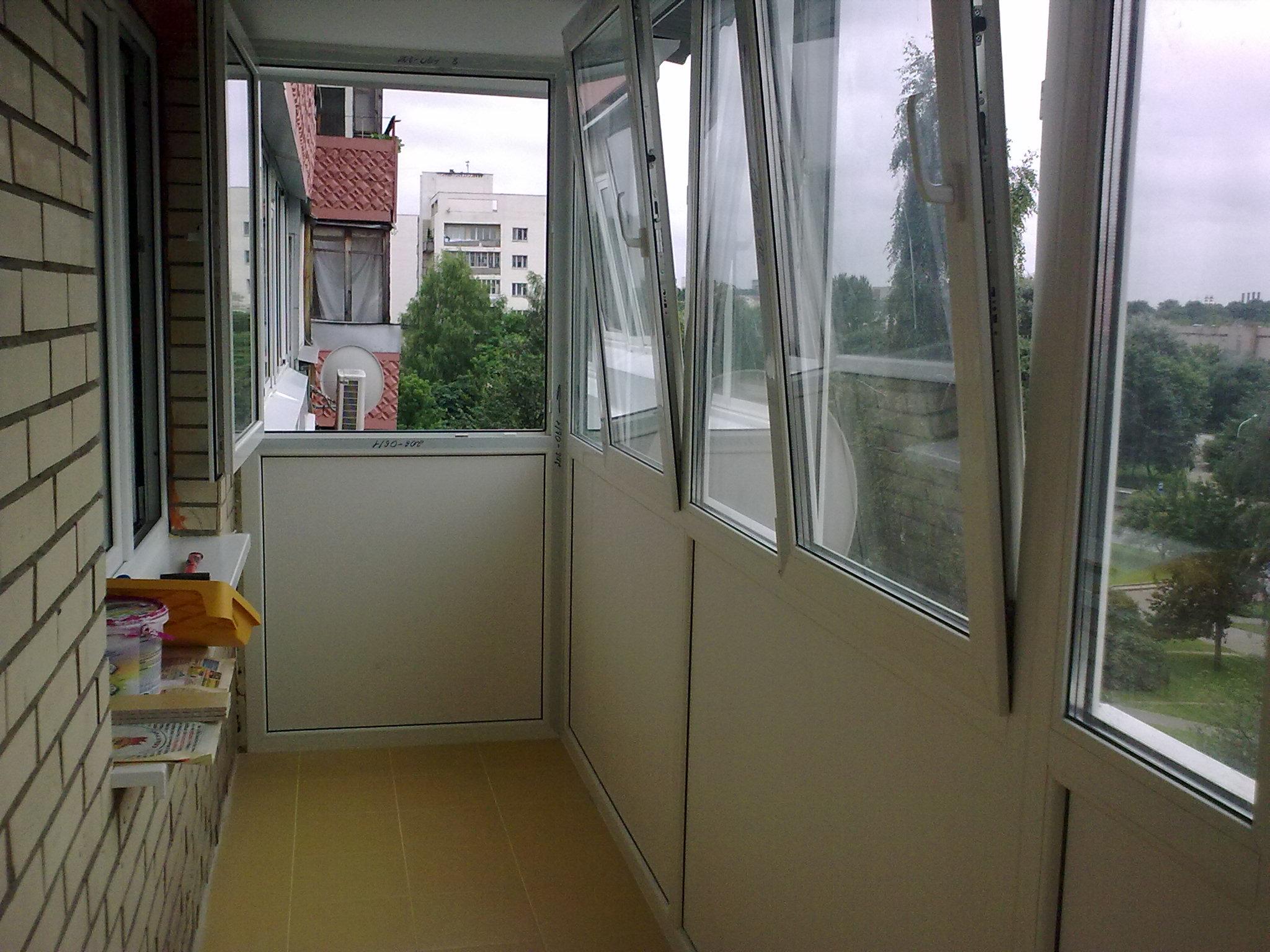 Отделка балкона (60 фото) - утепление, отделка и назначение .